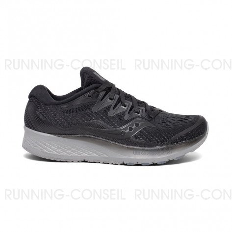 SAUCONY RIDE ISO 2 Femme - Blackout