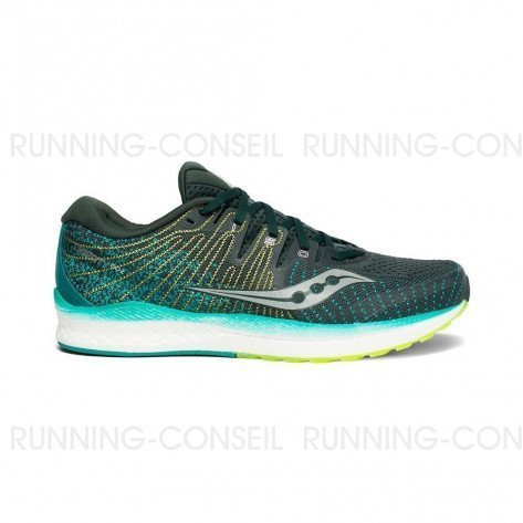 SAUCONY LIBERTY ISO Homme   Green / Teal