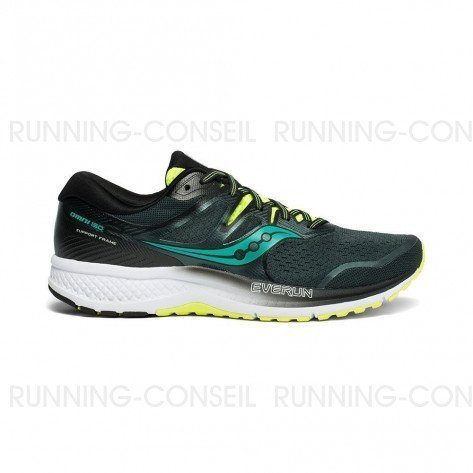 SAUCONY OMNI ISO Homme | Green / Teal