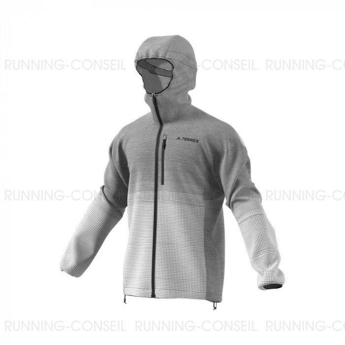 veste running homme adidas
