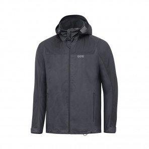 GORE® Veste à capuche R3 GORE-TEX Active Homme   Terra Grey/Black