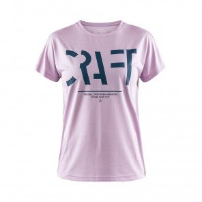 CRAFT T-SHIRT EAZE LOGO MESH FEMME | FLORE | Collection Printemps-Été 2019