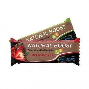 ERGYSPORT Natural Boost - Stick de 30g   Fraise